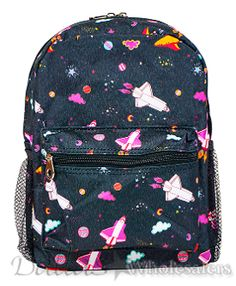 e734558fcc94 Jenzys Boys Kids Galaxy Mini Toddler Backpack Bag For Preschool or  Kindergarten