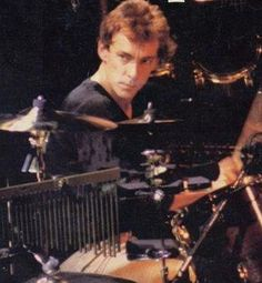 A young Neil Peart.