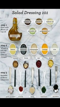 How to build a vinaigrette