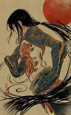 Illustrations, Illustration Art, 2d Art, Character Design Inspiration, Japanese Art, Asian Art, Art Inspo, Art Reference, Amazing Art