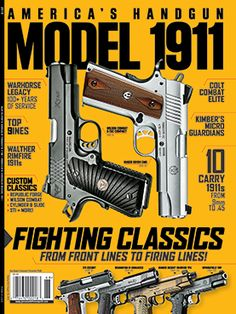 The Ruger® SR1911® is shown on America's Handgun Model 1911 2015 cover