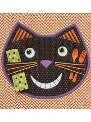 Sew - Patterns - Home & Kitchen Patterns - Table Toppers - Happy Cat Placemat Sewing Pattern
