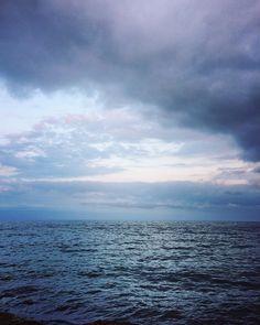 "superKinder 🇷🇴🇬🇧 on Instagram: ""#moody #sea #blacksea #clouds #cloudy #summer #july #europe #romania #beautifulromania #melancolica #visitromania #constanta #neptun…"" Visit Romania, Black Sea, Painting Inspiration, Europe, Clouds, Beach, Water, Summer, Outdoor"