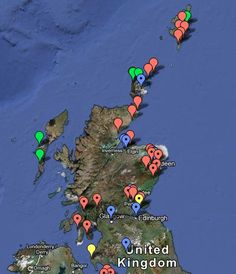 ogham+inscriptions | location of ogham inscriptions in scotland