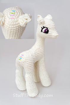 My Little Pony Celestia Amigurumi / πλέκω Tutorial