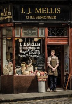 I. J. Mellis Cheesemonger - Edinburgh, Scotland