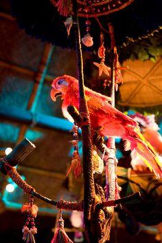 Enchanted Tiki Room, Walt Disney World, Orlando, Florida.