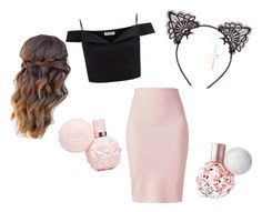 """""""Ariana grande inspired fall perfume"""" by notjuliette ❤ liked on Polyvore featuring beauty, Lipsy and Winser London"""