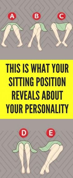 In the position you are sitting can enlighten a ton regarding your identity and this was found by the analysts that are concentrate the non-verbal communication! All About Mom, Stiff Neck, Sitting Positions, Make A Family, Need To Meet, Everything About You, Human Behavior, Body Language, Make You Feel