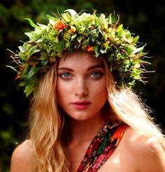 Little London: Floral Headpieces