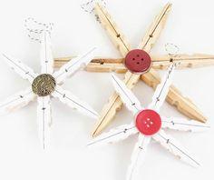 Peg star Ceiling Fan, Christmas Crafts, Star, Home Decor, Handmade Christmas Crafts, Windmill Ceiling Fan, Room Decor, Ceiling Fan Pulls, Xmas Crafts