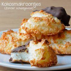Kokosmakroontjes zonder schuldgevoel – De gezonde foodie