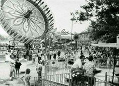 Roseland Park -  Canandaigua Lake - Finger Lakes - Flying Bobs - amusement park rides