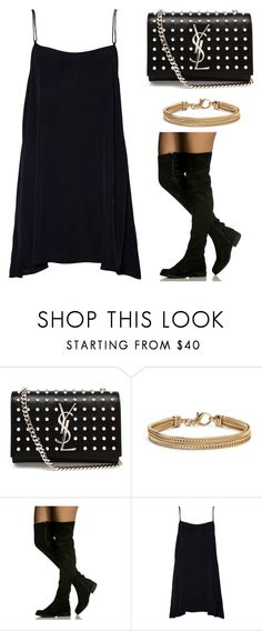 """""""Outfit Idea by Polyvore Remix"""" by polyvore-remix ❤ liked on Polyvore featuring Yves Saint Laurent and Blue Nile"""