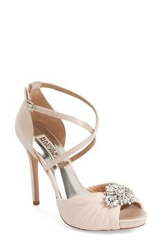 Badgley Mischka 'Cacique' Embellished Sandal (Women) available at #Nordstrom