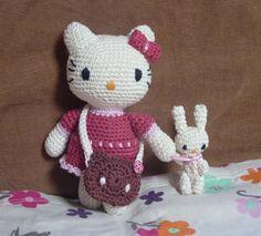 Kitty crochet pattern par MamasCrochetPatterns sur Etsy