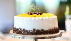 Jak udělat broskvový tvarohový dort   recept Birthday Cake Hd, Best Birthday Cake Images, Birthday Cake Delivery, Men Birthday, Girlfriend Birthday, Birthday Wishes, Happy Birthday, Banana Bread Cake, Cake Recipes