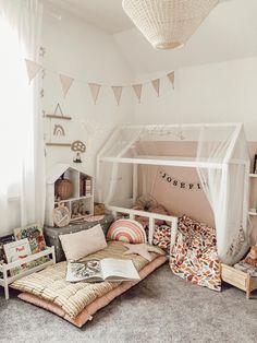 Baby Room Decor, Nursery Room, Boy Room, Diy Bedroom Decor, Nursery Ideas, Toddler Rooms, Big Girl Rooms, Kids Room Design, Girls Bedroom
