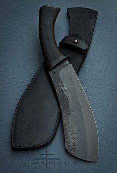 Custom Handmade Knives - Tomas Rucker great camp knife get one