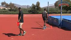 20 Drills & Techniques for Teaching the High Jump Basketball Drills, Jump Workout, Track Workout, Running Drills, Running Workouts, Long Jump, High Jump, Track And Field Events