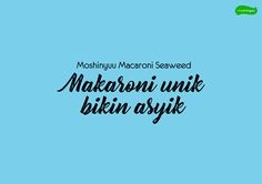 "Check out my @Behance project: ""Moshinyuu Macaroni Seaweed ""Makaroni unik bikin asyik"""" https://www.behance.net/gallery/59629011/Moshinyuu-Macaroni-Seaweed-Makaroni-unik-bikin-asyik"