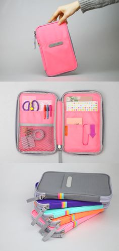 If you see a mess in your daily bag, it might be the time to consider to get functional organizer like the Better Together Pouch v3! Many pockets both inside and outside, lightly padded for protecting items inside, and made a water-resistant material; you can rely on this colorful and cute pouch to organize and carry all your items neatly!