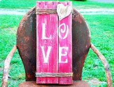 Love, Love Sign, Rustic, Primitive, Love Wood Sign, Wood Sign, Reclaimed Wood Sign, Reclaimed Wood Love Sign, Reclaimed, Backyard Reclaimation, Backyard, Reclaimation, Flora Illinois, Louisville Illinois, Southern Illinois, 62858, 62839, Wall Art, Wall Hanger, Wall Decor, Home Decor, Shabby, Chic by mandy