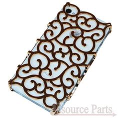METAL ART IPHONE 4/4S CASE (12518GLD) - GOLD