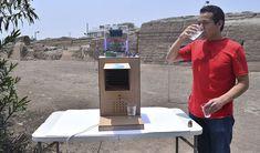 آلة لتوليد مياه الشرب من الرطوبة Relative Humidity, Electric Power, Drinking Water, Renewable Energy, Rain, People