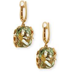 Miseno Sealeaf Small 18k Gold Drop Earrings SGP3XclJYs