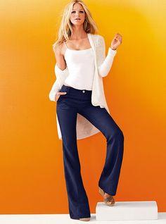 Linen Flare Trouser - Victoria's Secret