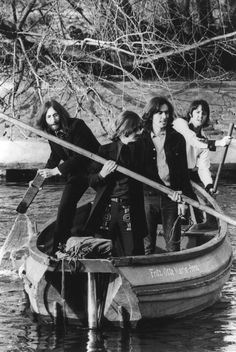 Beatles doing their best Gondolier impression! Late 60's