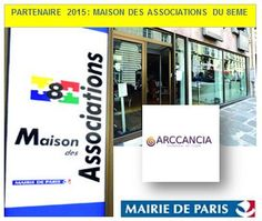 Arccancia est affiliée à la Maison des Associations du 8é Desktop Screenshot, City Office, Photographs