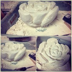 Plaster sculpture (not finished)