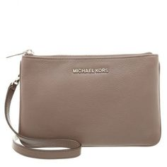 MICHAEL by Michael Kors Bedford Cinder Gusset Crossbody Bag
