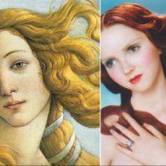 Hair that shines like a goddess
