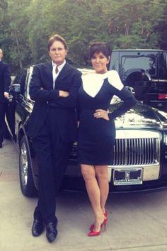 Kris & Bruce #Kardashian #Jenner #Family