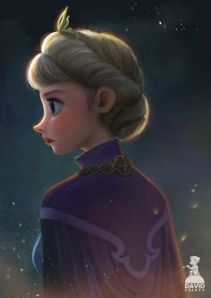 Elsa by DavidAdhinaryaLojaya