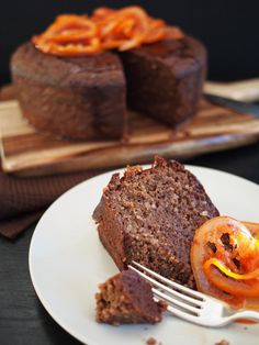 flourless blood orange chocolate cake recipe