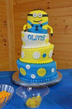 Despicable Me Minion Birthday Cake!