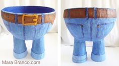Jeans Bowl by Mara Branco Tutorial 3