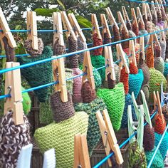 After the Tree leaves Yarnstorm was taken down it was washed before being sold to fundraise for the Woodland Trust - Hippystitch: September 2019 Tree Leaves, Garden Tools, Woodland, Trust, September, Projects, Log Projects, Blue Prints, Yard Tools