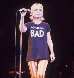 Looking back at the lead singer of Blondie