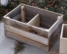 DIY wooden crates - tutorial!!