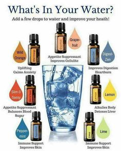 Natural Earth Oils: WHAT'S IN YOUR WATER?