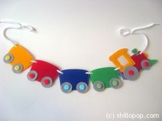 Choo Choo Train felt banner PDF pattern Train felt toy                                                                                                                                                                                 More
