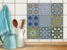 Marokkanische Fliesenaufkleber   Orientalisches Design, Hochwertiges  Mosaik. Der Eyecatcher Im Badezimmer! ❤ | Pinterest | Fliesenaufkleber,  Orientalisches ...