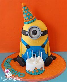 Birthday Minion Cake - SmartieBox Cake Studio