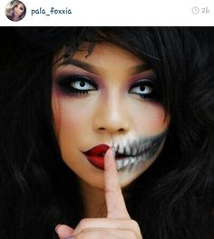 Another all time fav makeup artist Im amazed by is Palafoxx shes brilliant Halloween makeup !!