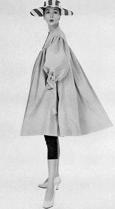 Suzie Parker, photo by George Dambler, 1954